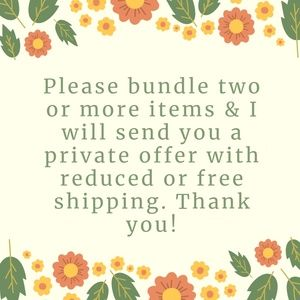 Please bundle two or more items!